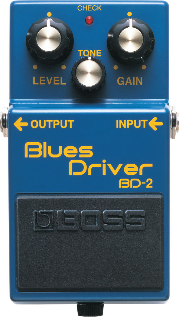 Boss BD-2 Blues Driver - Effektpedal