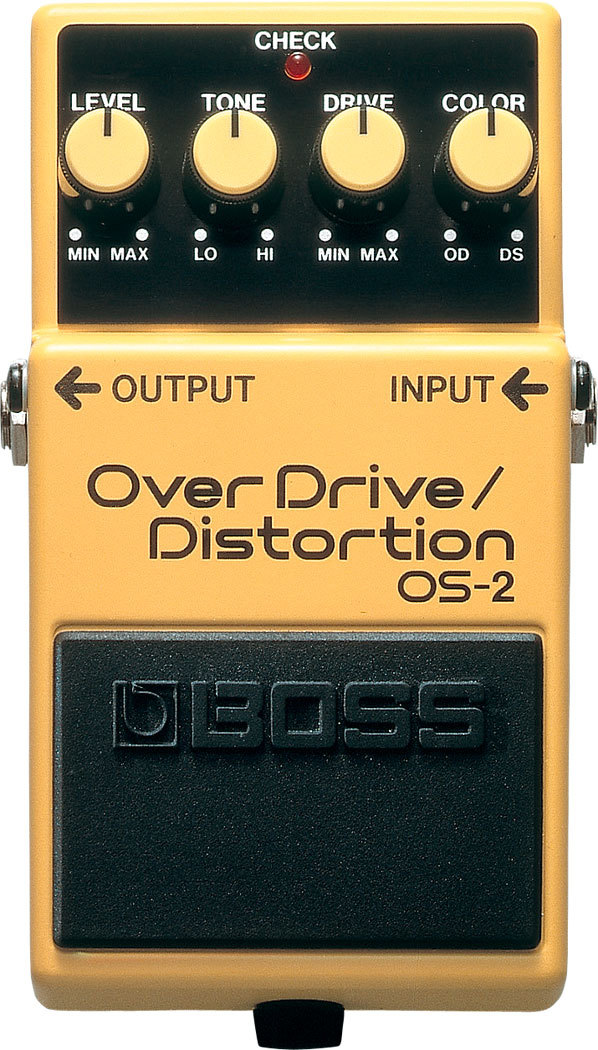 Boss OS-2 Overdrive/Distortion Fußpedal